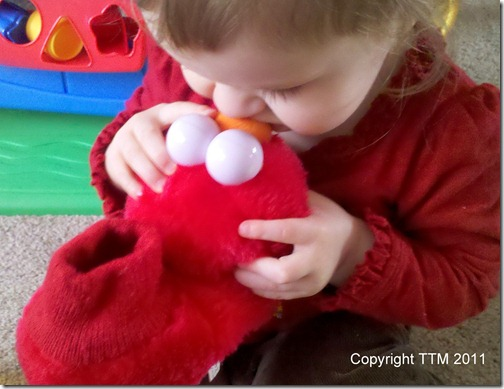 red kiss elmo