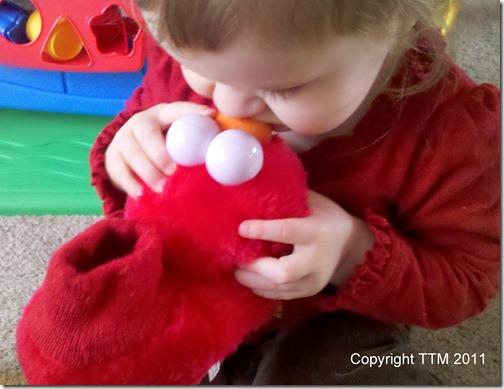 red kiss elmo