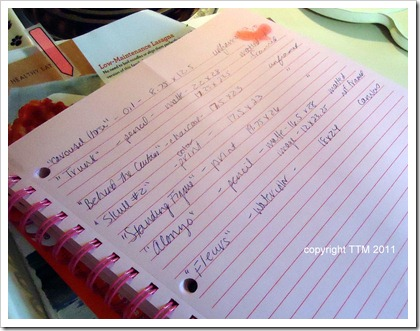 master notebook