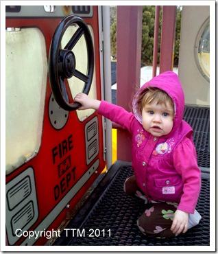 park firetruck