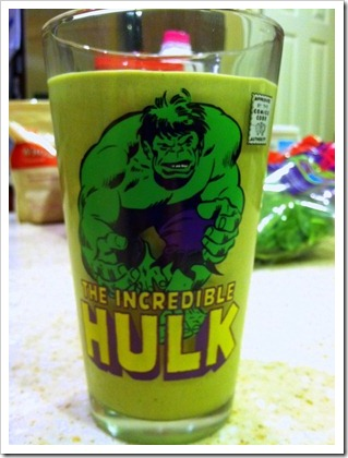 morning shake hulk